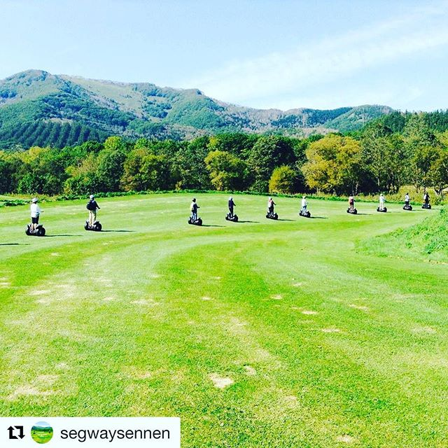 Segway tour of the day - and the SF waterfront are today's segway tour of the day  @segwaysennen ・・・ 2016.autumn earth garden