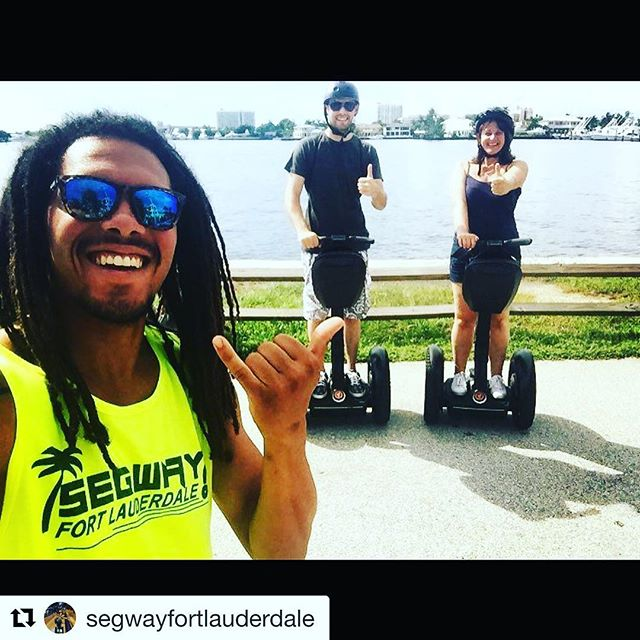 It is Segway selfie Sunday from sunny Fort Lauderdale Florida USA  Glad to see those segway smiles on the tours at @segwayfortlauderdale segwayfortlauderdale . . . @segwayfortlauderdale ・・・  @hiltonfllmarina @wfortlauderdale @fortlauderdalefl @browardcountyfl #