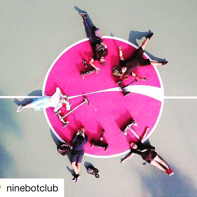 Looks like the Ninebot club in Jakarta Indonesia ?? is out exploring and creating community while riding all versions of the ninebot. Get out and glide!  @ninebotclub ・・・ United in Ninebot ?? @chiefyflicker @unityoktafi @viga.nunu @bobby_spyzer @averyzie