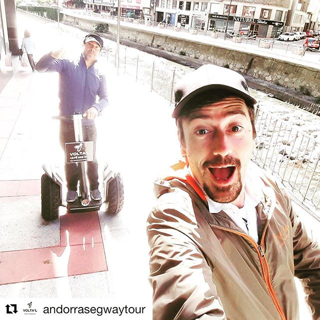 Segway selfie of the day is from Andorra 🇦🇩 go out and get your own segway selfie on one of the 700 segway tour companies worldwide. find and book the perfect segway tour at http://segway-tours-worldwide.com . . @andorrasegwaytour ・・・ ohhh....de ruta per la capital dels pirineus!...