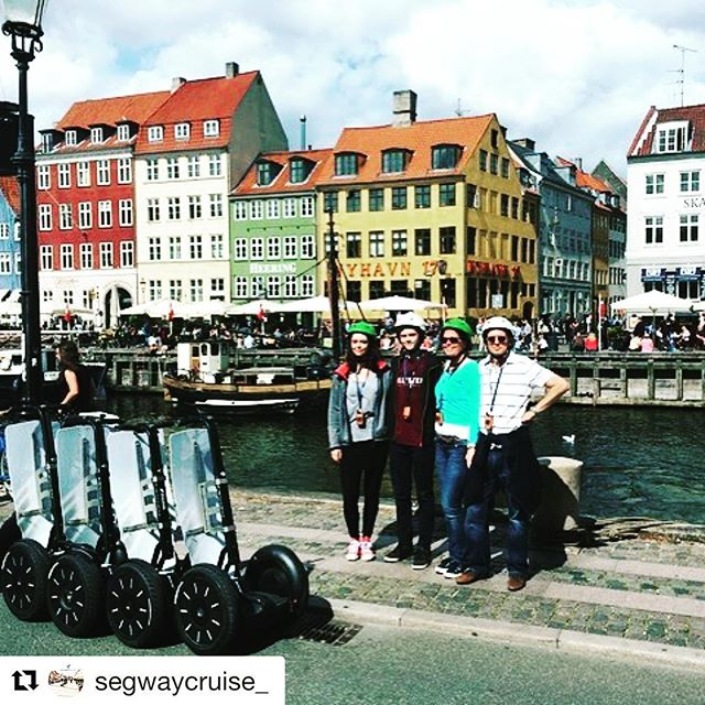Copenhagen Denmark ?? is today's segway tour destination of the day. Glide with Segway Cruise thought the streets of this incredible city. . @segwaycruise_ ・・・ Thanks for a lovely Segway Cruise 2 hour tour through Copenhagen! Hope to see your lovely family again :)