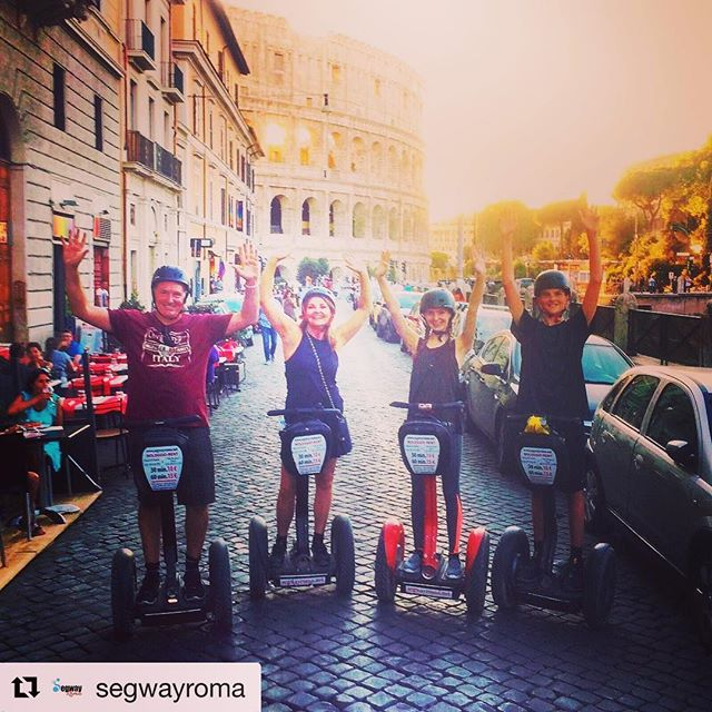Segway through ancient Rome's history with this segway tour. Rome Italy  is today's segway worldwide destination. . . @segwayroma ・・・ in ️