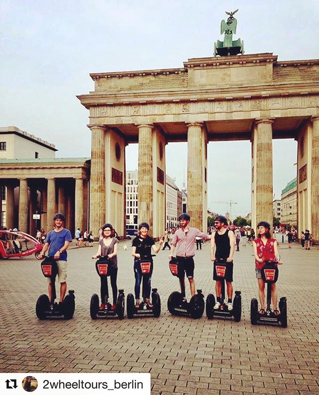 Segway tour destination of the day is Berlin Germany  One of 700 fun segway and Ninebot tour destinations featured on segway-tours-worldwide.com . . @2wheeltours_berlin ・・・ Sunny day in Berlin ?