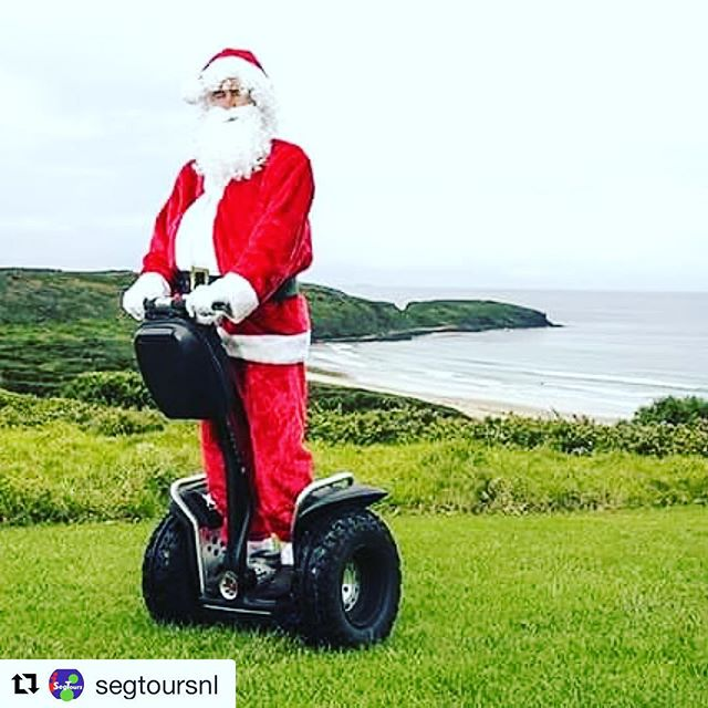 Looks like Santa  is delivering gifts on a Segway this year. . . @segtoursnl ・・・ SegTours wenst iedereen prettige kerstdagen en een gelukkig nieuwjaar!