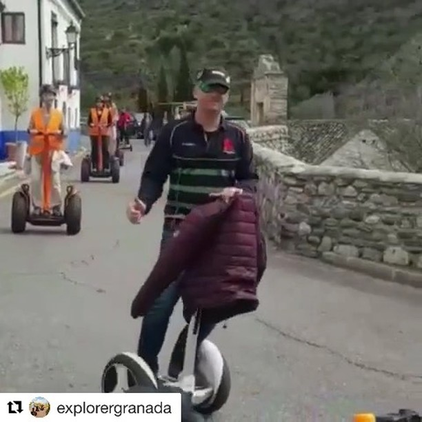Need to add Granada as a must Segway tour location . .' @explorergranada ・・・ We had another @segway in . If you are visiting @spain you cannot miss Granada  www.explorergranada.com • • • • @condostacones.viajes @viajenaviagem @travelaroundspain @travel_to_europee @europetravelcaravan @europe.travel.inspo