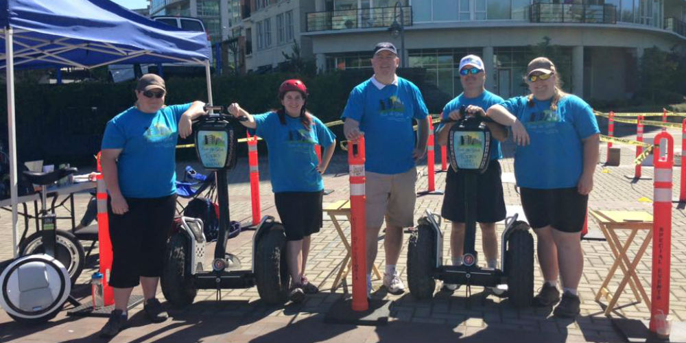Ride The Glide  - Segway Tours - Nanaimo British Columbia Canada