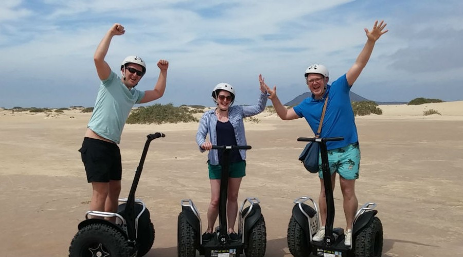 Eco2wheels Segway Tours - Corralejo Spain
