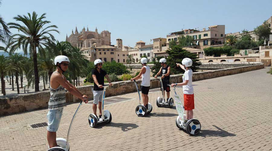 FunRun Palma Segway Tours - Palma de Mallorca Spain