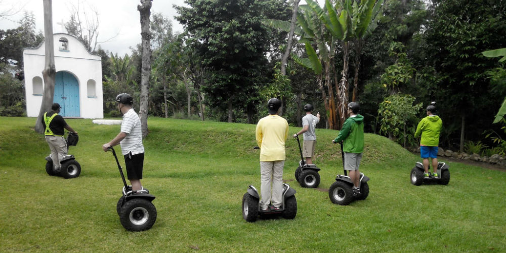 Green Belly Adventure  - Segway Tours - Antigua Guatamala
