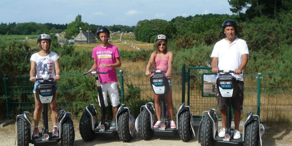 Mobilboard Segway Tours - Carnac France