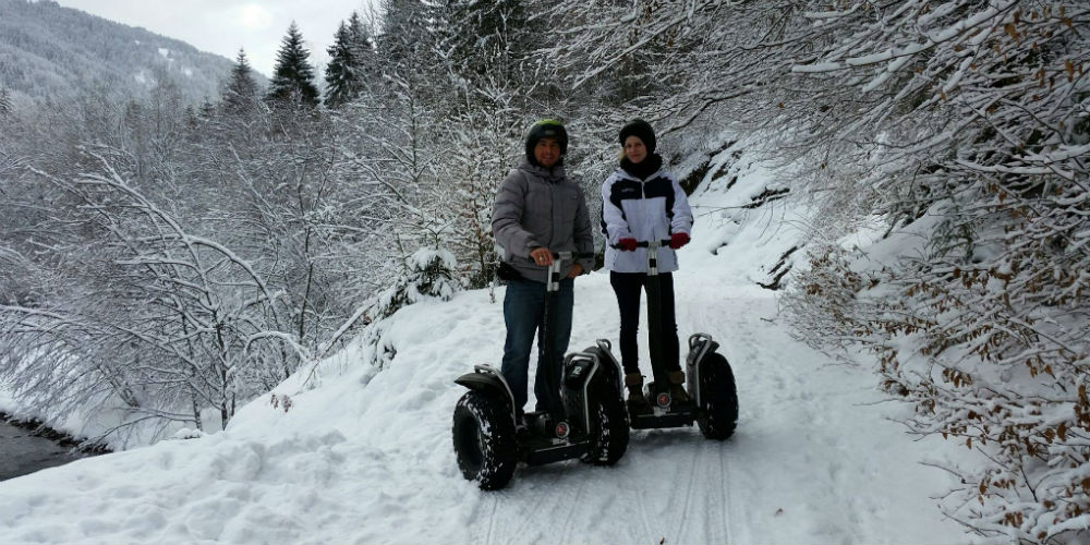 Mobilboard Segway Tours - Morzine and Haute Savoie France