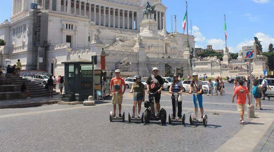 Ninebot Tours - Rome Italy