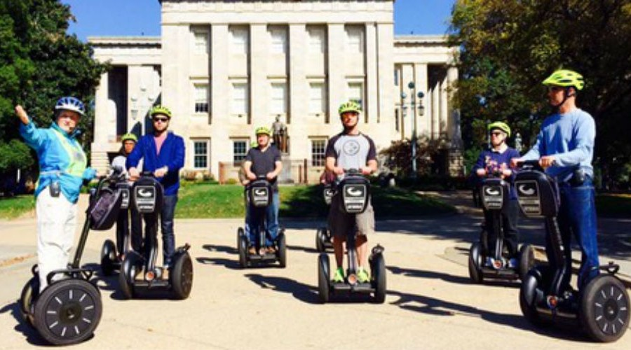 Triangle Glides - Segway Tours - Raleigh North Carolina