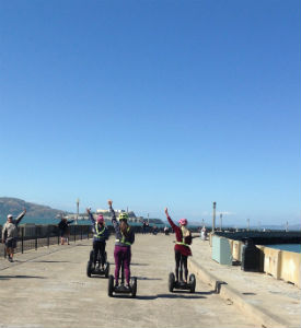 San Francisco Wharf and Waterfront Segway Tours