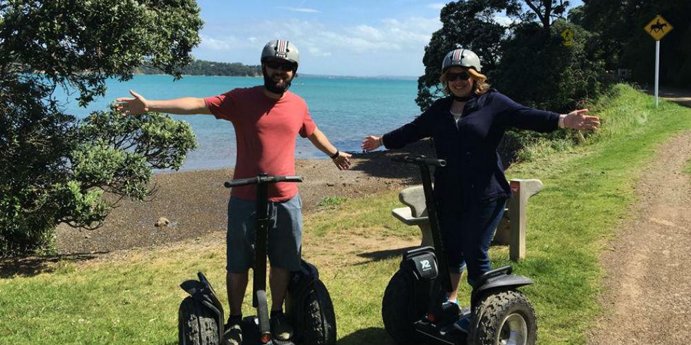 SegWai - Segway Tours - Oneroa Waiheke Island New Zealand