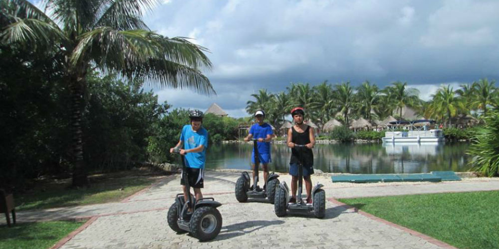 Segway Fun Tours Mayan Riverara - Playa Del Carmen Mexico
