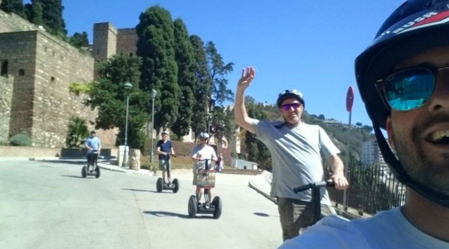 Enjoy a Segway tour with Segway Malaga Experience in Malaga Spain