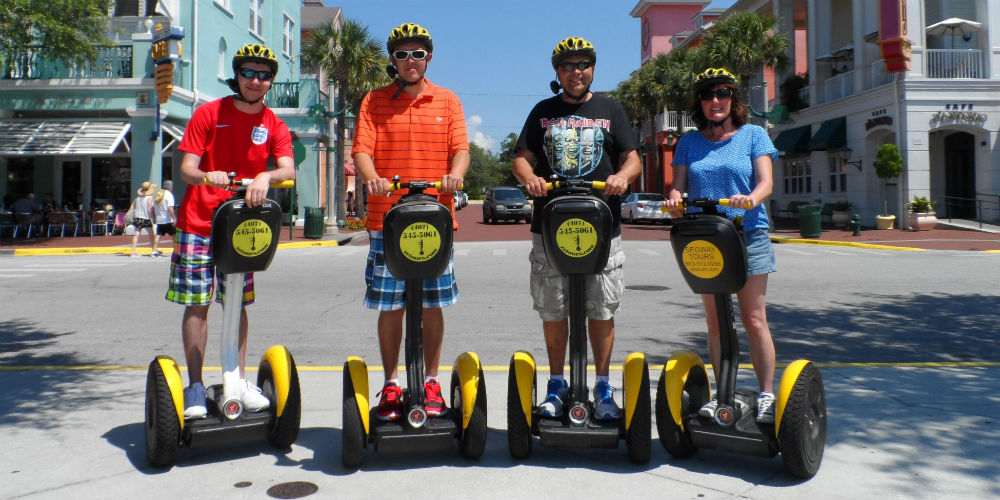 Zero Emission Tours - Segway Tours - Kissimeee and Celebration Florida