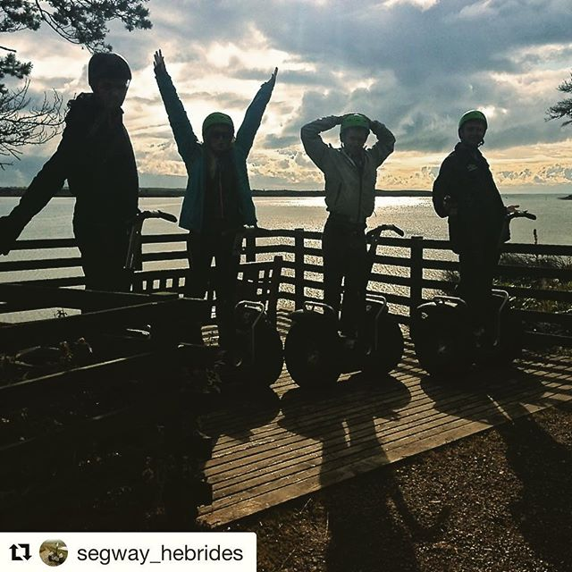 Long summer days equals more time to segway. Enjoy your summer and find the perfect segway or ninebot tour at @segwayworldwide . . @segway_hebrides ・・・ Favourite image from August's tours.