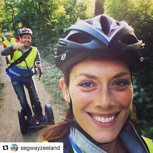 Segway selfie of the day in the Netherlands 🇳🇱 Choose from 740 segway destinations @segwayworldwide . . @segwayzeeland (@get_repost) ・・・ Aankomende dinsdag weer perfect weer voor Segway tours in Renesse! Doe je ook mee?