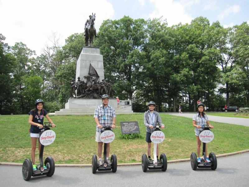 Segway Tours of Gettysburg - Gettysburg Pennsylvania
