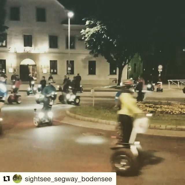 Segway video of the day in Bodensee  Austria 🇦🇹 round and round we go ! . . @sightsee_segway_bodensee ・・・ Wonderful fun