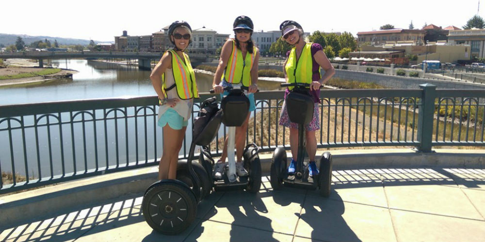 Segway Napa - Wine Country Segway Tours - Napa California