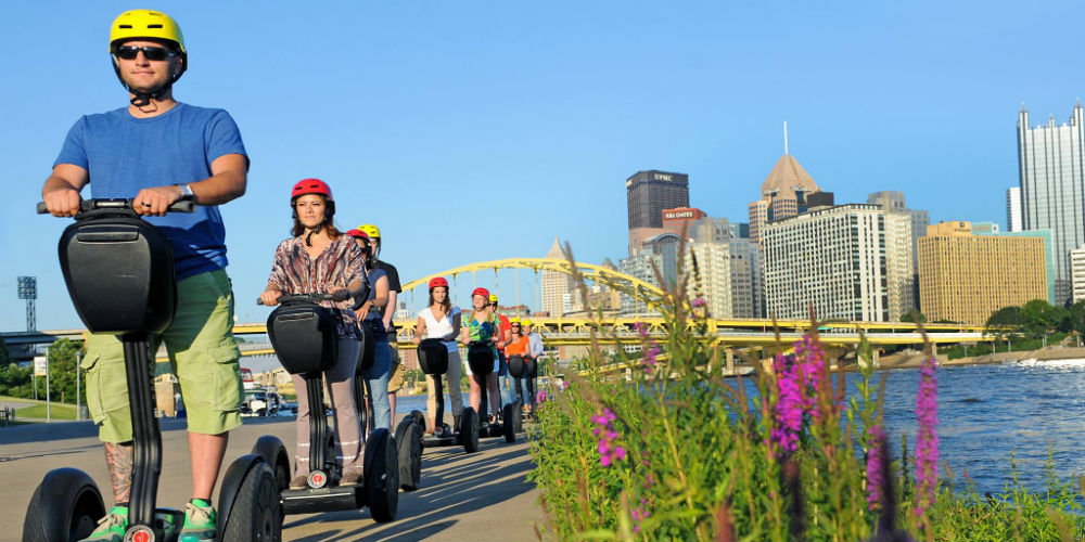 Segway Pittsburgh Experience Center - Pittsburgh Pennsylvania