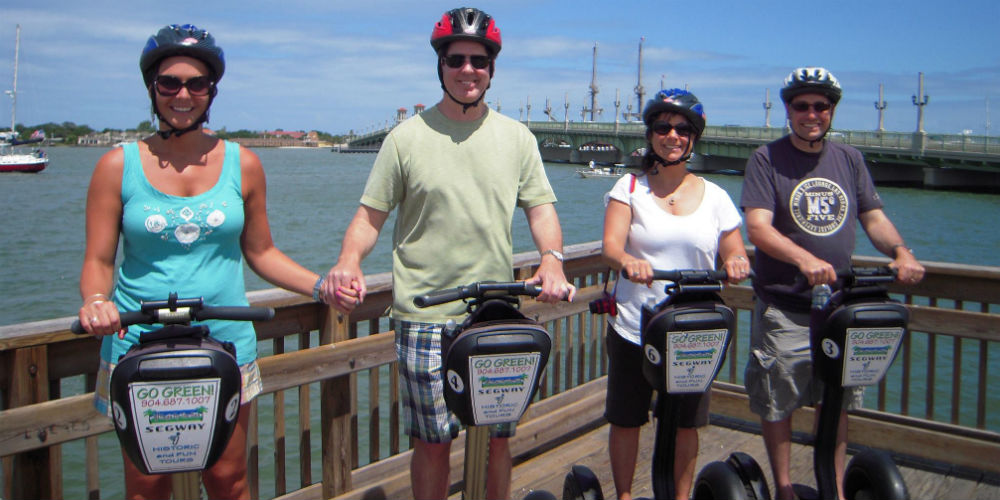 Segs By The Sea - Segway Tours - St Augustine Florida