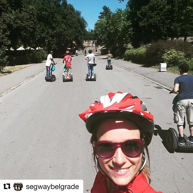 Today's featured segway selfie is from Belgrade Serbia . . . @segwaybelgrade ・・・ Segway selfie