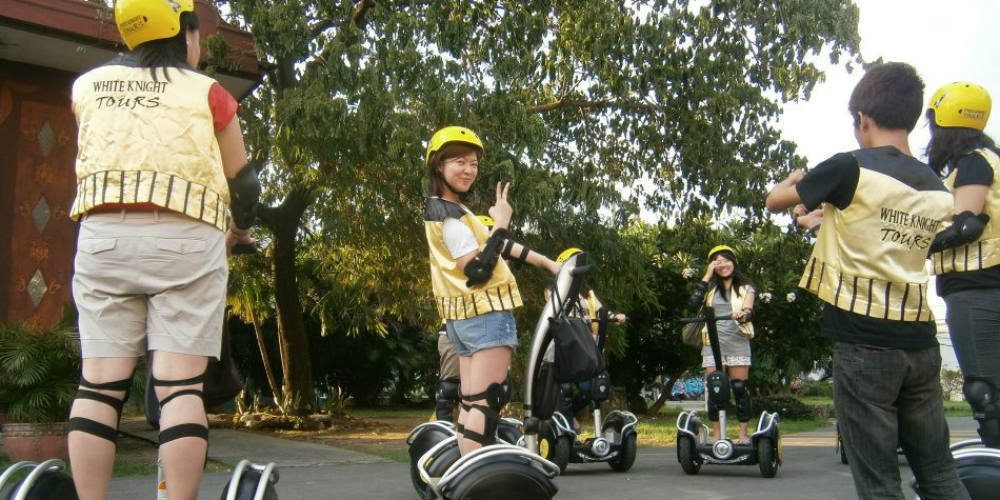 White Knight Electric Chariot Tours - Segway Tours - Manila Philippines