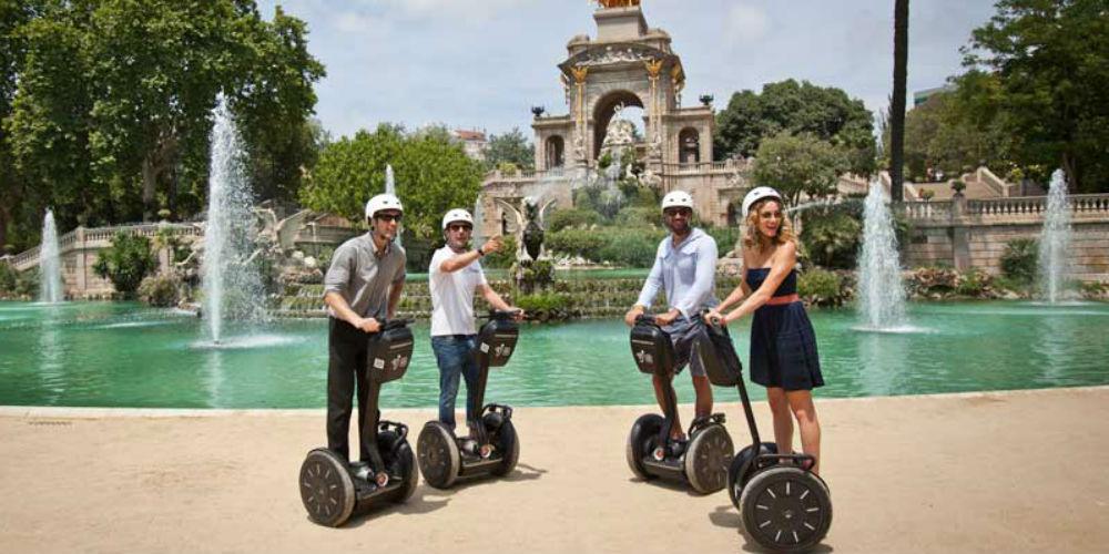Segway Barcelona City Tour